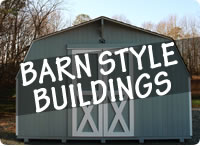 Rent to Own Barn Portable Storage Sheds