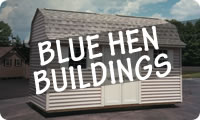 Rent to Own Blue Hen Portable Storage Sheds