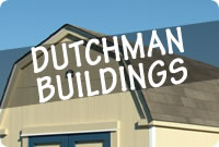 Rent to Own Dutchman Portable Storage Buildings