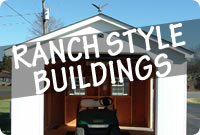 Rent to Own Ranch Portable Storage Buildings