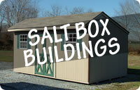 Rent to Own Salt Box Portable Storage Sheds