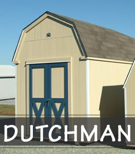 Dutchman Amish Style Portable Storage Sheds