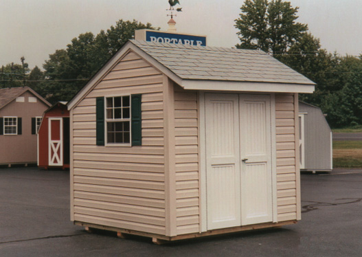 8 39 X 8 39 Salt Box Style Shed Sb 7 Portable Buildings