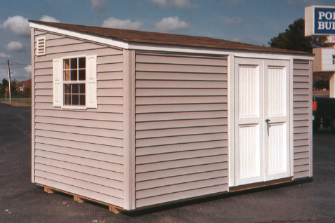 8u2032 x 12u2032 Lean-To Narrow Storage Shed (CU-7) : storage sheds vinyl  - Aquiesqueretaro.Com