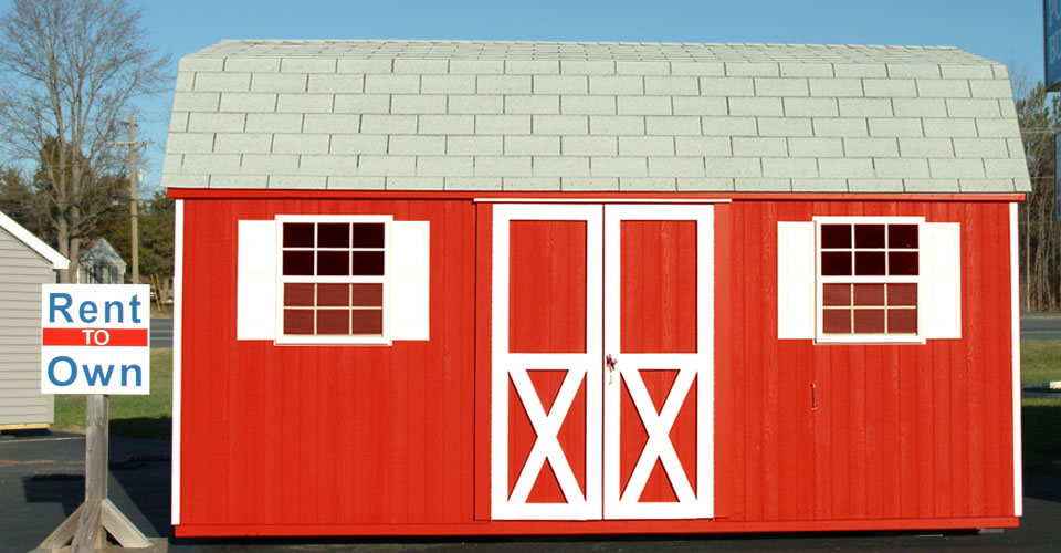 Rent to Own Storage Sheds and Other Portable Buildings