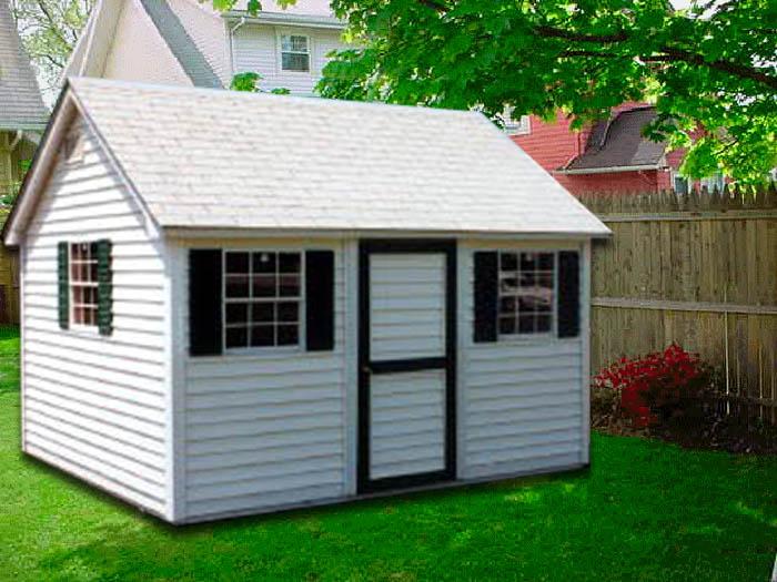 10 X 12 Cape Cod Cc 4 Portable Buildings Inc