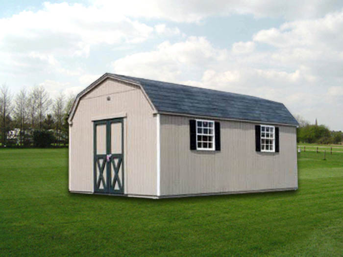 12u2032 x 20u2032 dutchman storage shed d3