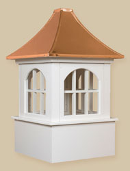 PVC-Winyl Windows with Copper - Bethany