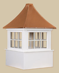 PVC-Winyl Windows with Copper - Carlisle