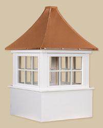 PVC-Winyl Windows with Copper - Carlisle