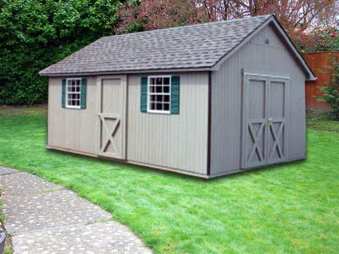 Handsome 10 X 16 Cape Cod Cc 9 Portable Buildings
