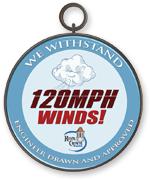 Cupolas withstand 120 miles per hour winds