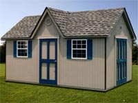 10′ x 16′ Cape Code Shed (CC-12)