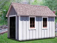 8′ x 12′ Cape Cod Shed (CC-6)