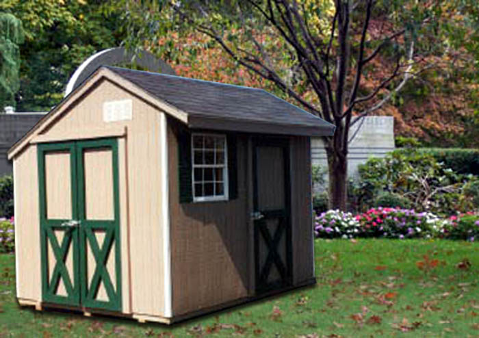 8 39 X 10 39 Salt Box Shed Sb 3 Portable Buildings Inc