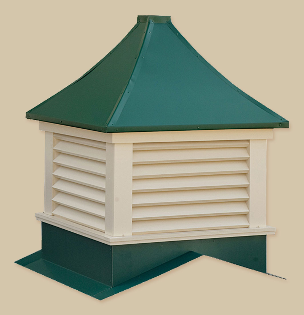 Sundance series vinyl cupolas portable buildings inc for Build your own cupola