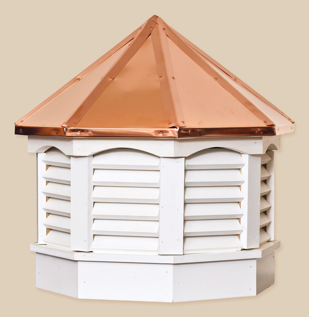 Octagon gazebo series cupolas portable buildings inc Build your own cupola