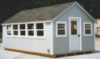 12 x 20 Shed Cape Cod CC-22