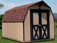 8' x 12' Barn Storage Shed (B-1)