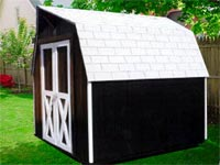 8′ x 8′ Barn Storage Shed (B-5)