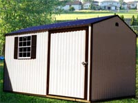 Low Maintenance 8′ x 12′ Aluminum Shed (CU-13)
