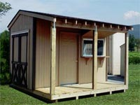 10′ x 14′ Canoe Ticket Office Building (CU-16)