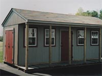 12′ x 20′ Ranch Portable Building (CU-3)