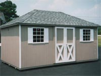 10′ x 16′ Ranch with Hip Roof (CU-6)