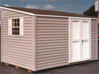 8′ x 12′ Lean-To Narrow Storage Shed (CU-7)