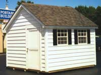 10' x 12' Cape Cod w/ Carolina Bead Siding (CC-26)