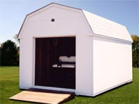 10′ x 16′ White Dutchman Storage Shed (D-5)