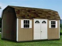 10′ x 16′ Dutchman Storage Shed (D-6)