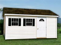 10′ x 14′ Ranch w/ Vinyl Siding (R-11)