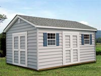 12′ x 20′ Ranch w/ Carolina Beaded Siding (R-8)