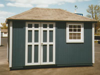 10' x 12' Ranch with Hip Roof (R-17)