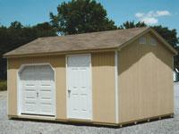 12' x 16' Ranch Portable Service Building (R-19)