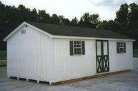 12' x 24' Ranch Portable Building (R-20)