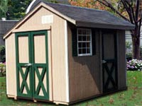 8′ x 10′ Salt Box Shed (SB-3)
