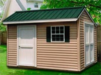 8′ x 12′ Salt Box Shed (SB-4)