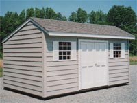 10′ x 16′ Salt Box Shed (SB-8)