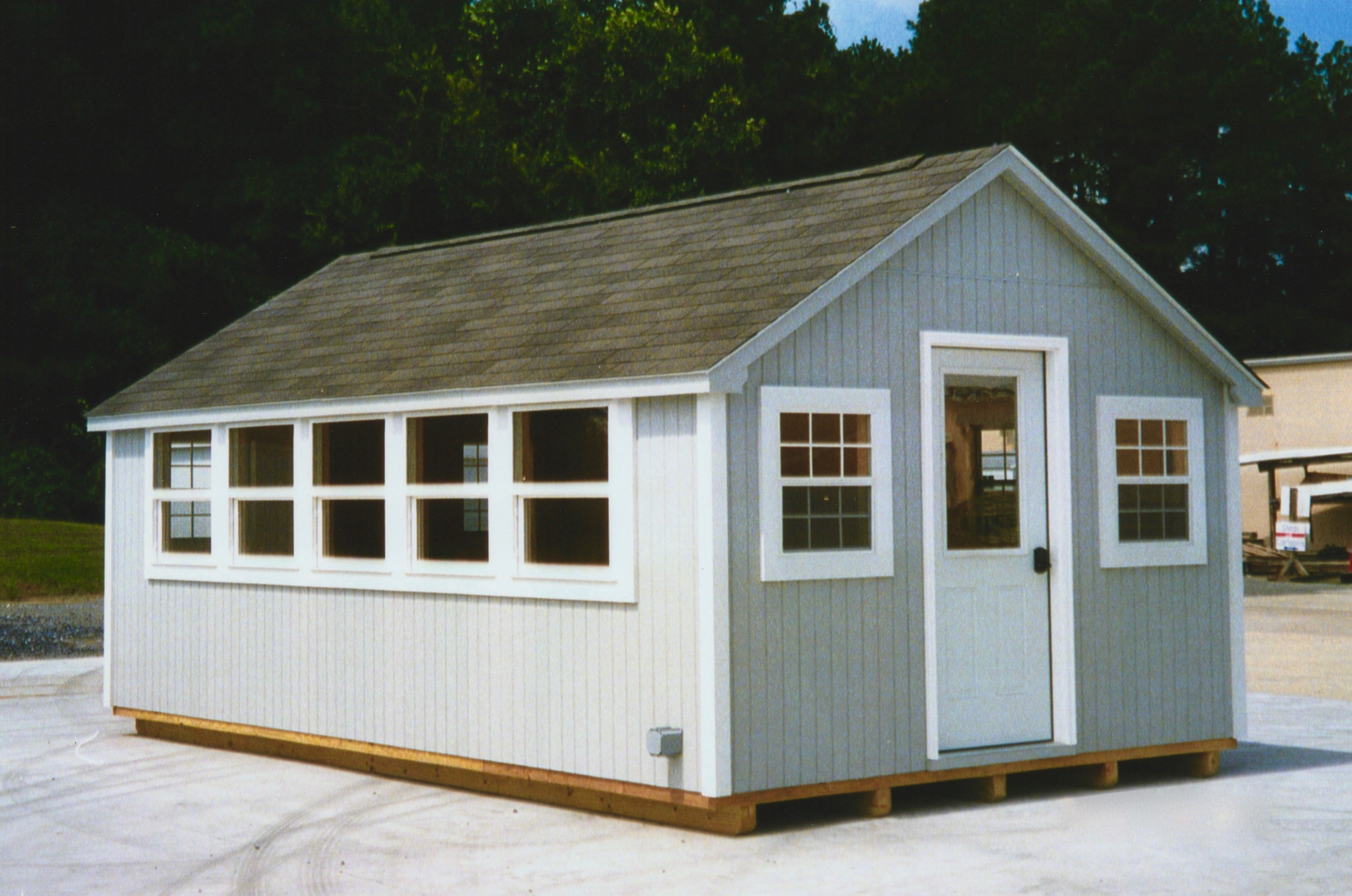 shed roofing storage gambrel time home portable buildings tool sheds and building