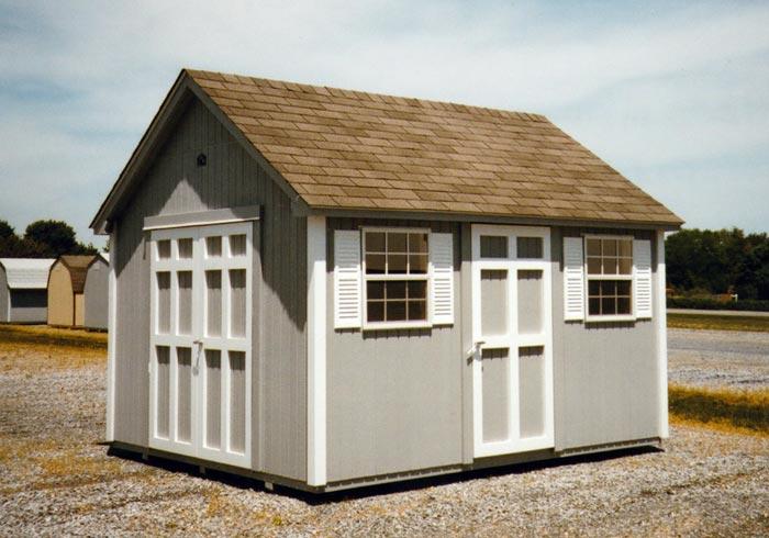 10 X 12 Cape Cod Cc 21 Portable Buildings Inc