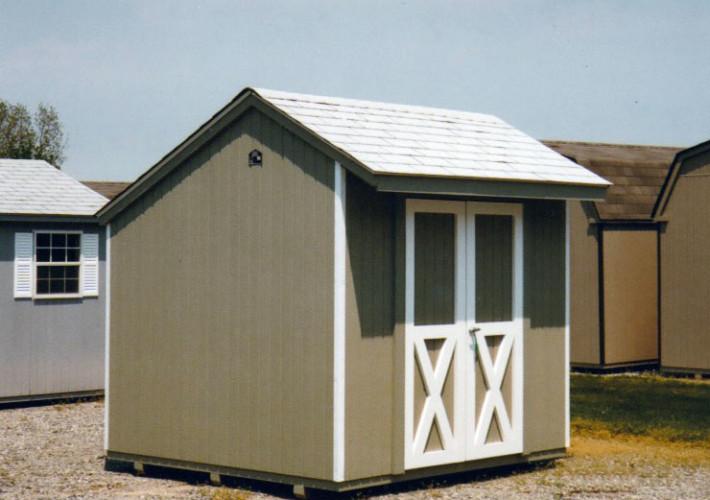 8 39 X 8 39 Salt Box Sb 9 Portable Buildings Inc