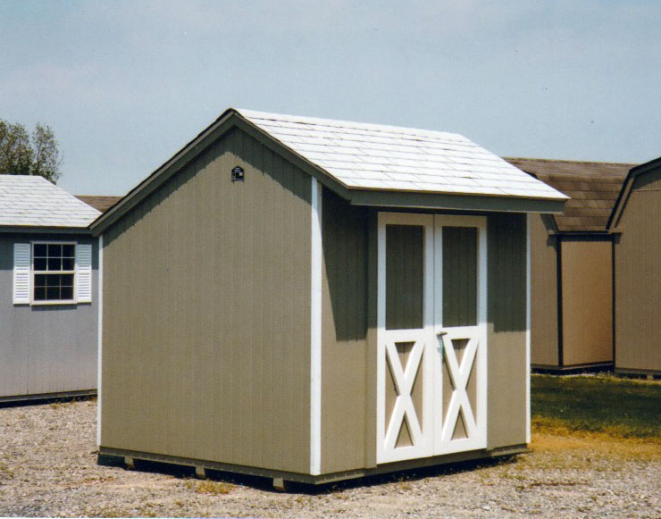8 39 X 8 39 Salt Box Sb 9 Portable Buildings Inc